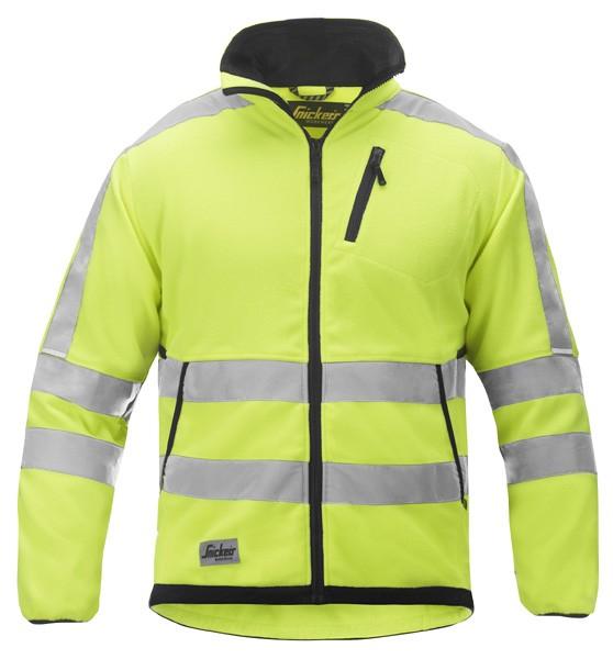 tukkukaupassa myymälä bestsellereitä myymälä Snickers 8033 Hi-Vis Fleece Jacket Class 3 - Yellow/Black ...