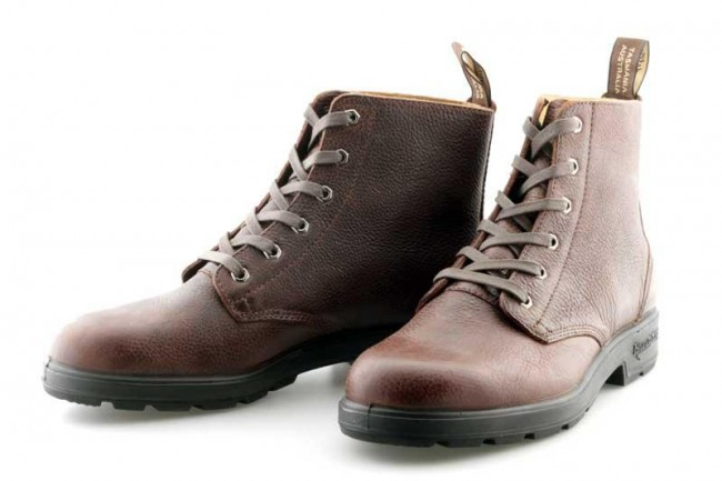 bebd4bb7ff2c0 Blundstone 1454 Brown Tumble Leather Lace Up Boot Brix Workwear